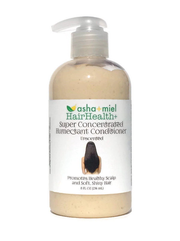 4 oz HairHealth+ Super Concentrated Humectant Herbal Hair Conditioner with 28 hair growth herbs and oils