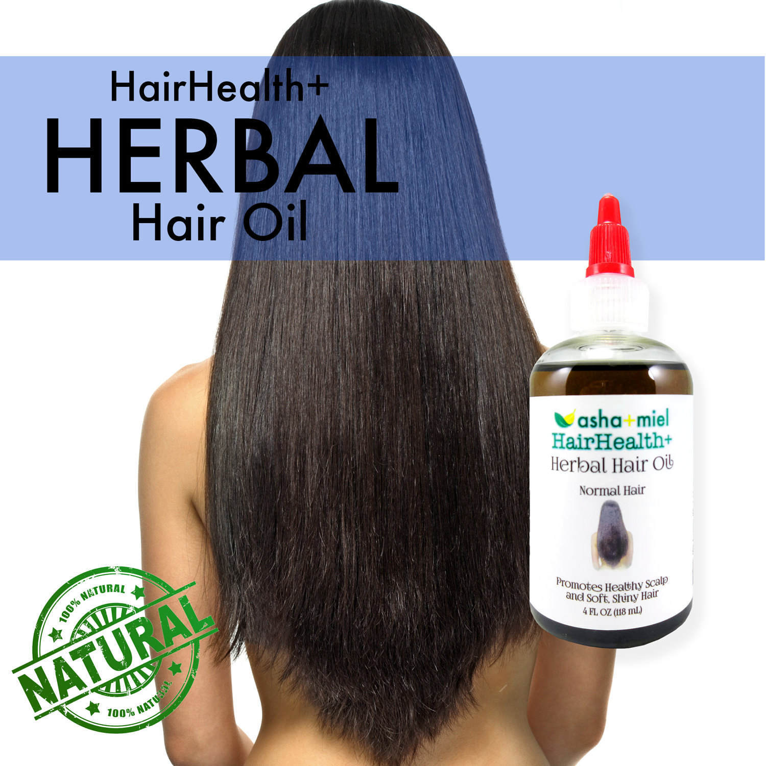 Herbal Hair Oil, Growth serum, 26 Herbs & oils, Hair Growth Amla