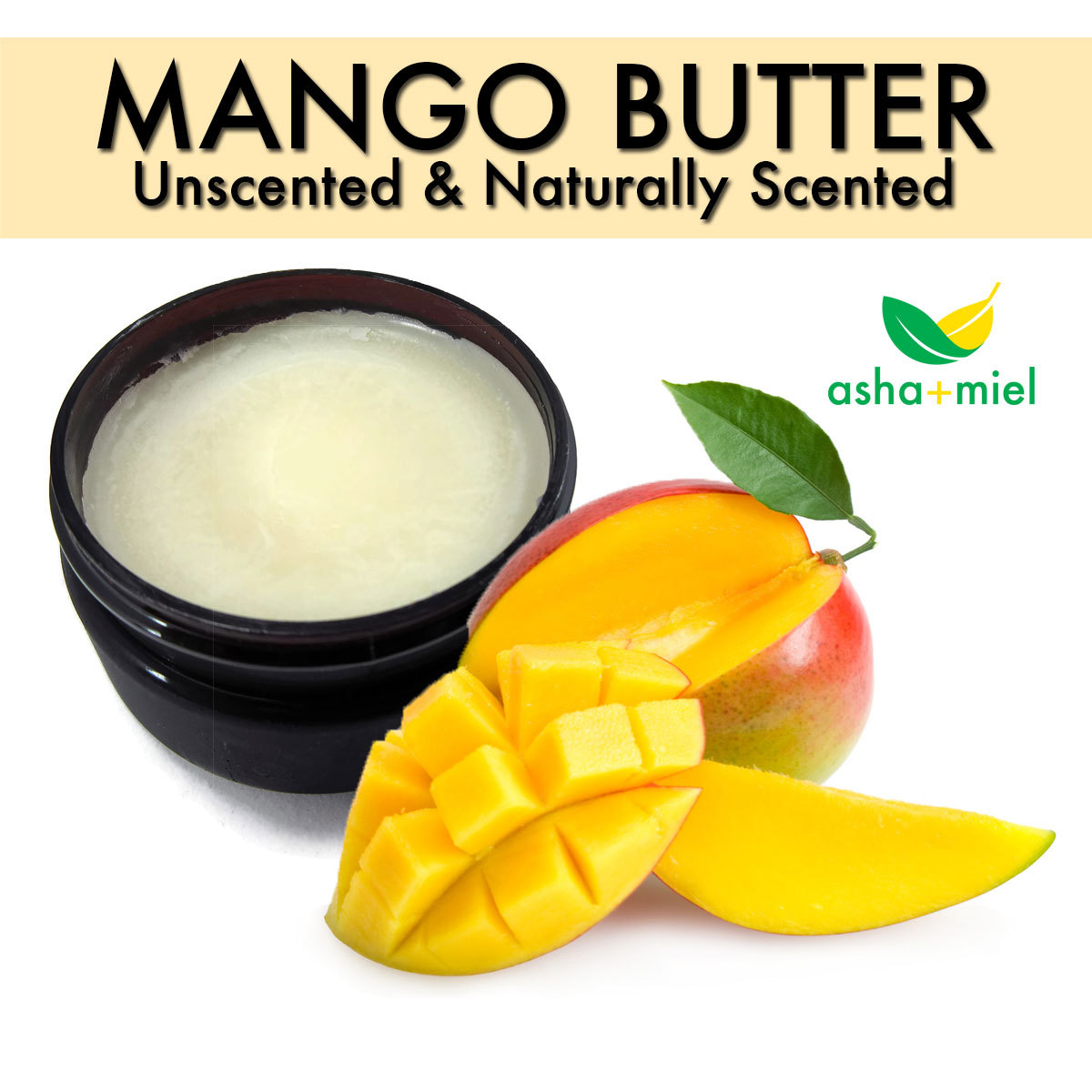 Mango Butter, Body Butter, Shea Butter Alternative, Dry Skin