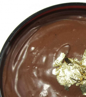 24K Gold Black Cocoa Butter + Shea Whipped Hair & Body Frosting Hair Mask, Body Butter, Stretch Mark Cream