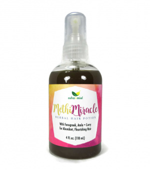 Methi Miracle Herbal Potion, Hair Growth, Fenugreek Spray, Amla