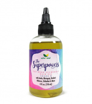 Superpowers Ayurvedic Oil, Concentrated, Grade B, 4 ounces