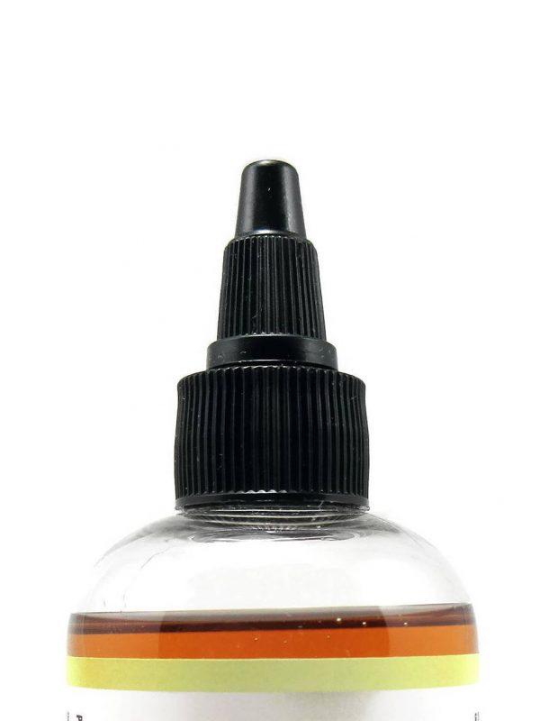 Amla Oil Ayurvedic Indian Hair Oil, Close Up View of Top