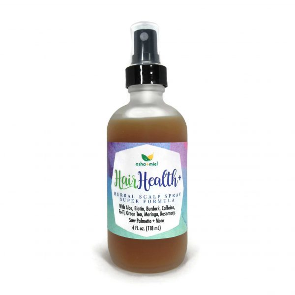 Mega Herbal Scalp Spray, Hair Growth with Aloe, Biotin, Burdock