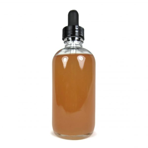 Super Concentrated Ayurvedic Hibiscus Oil, 4 ounce dropper bottle with no label