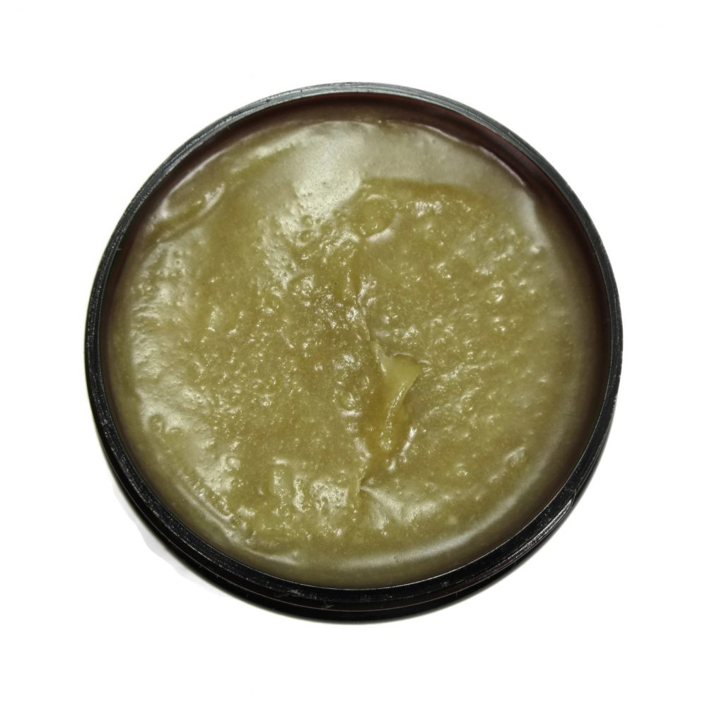 The Superpowers Virgin Coconut oil Ayurvedic 10 Herb Hair Growth oil, top view