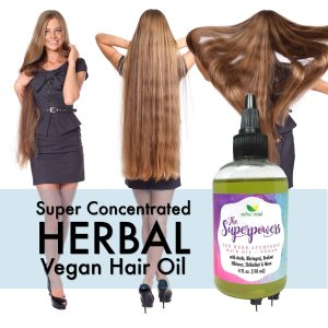 VEGAN The Superpowers Ayurvedic Hair Growth oil, Growth Serum, Amla oil, 10 Herb Coconut hair oil