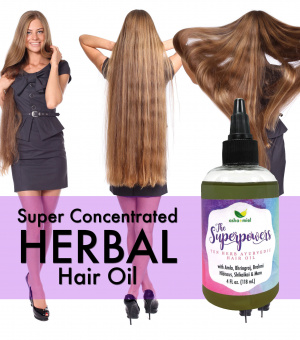 The Superpowers Ayurvedic Hair Growth oil, Growth Serum, Amla oil, 10 Herb Coconut hair oil