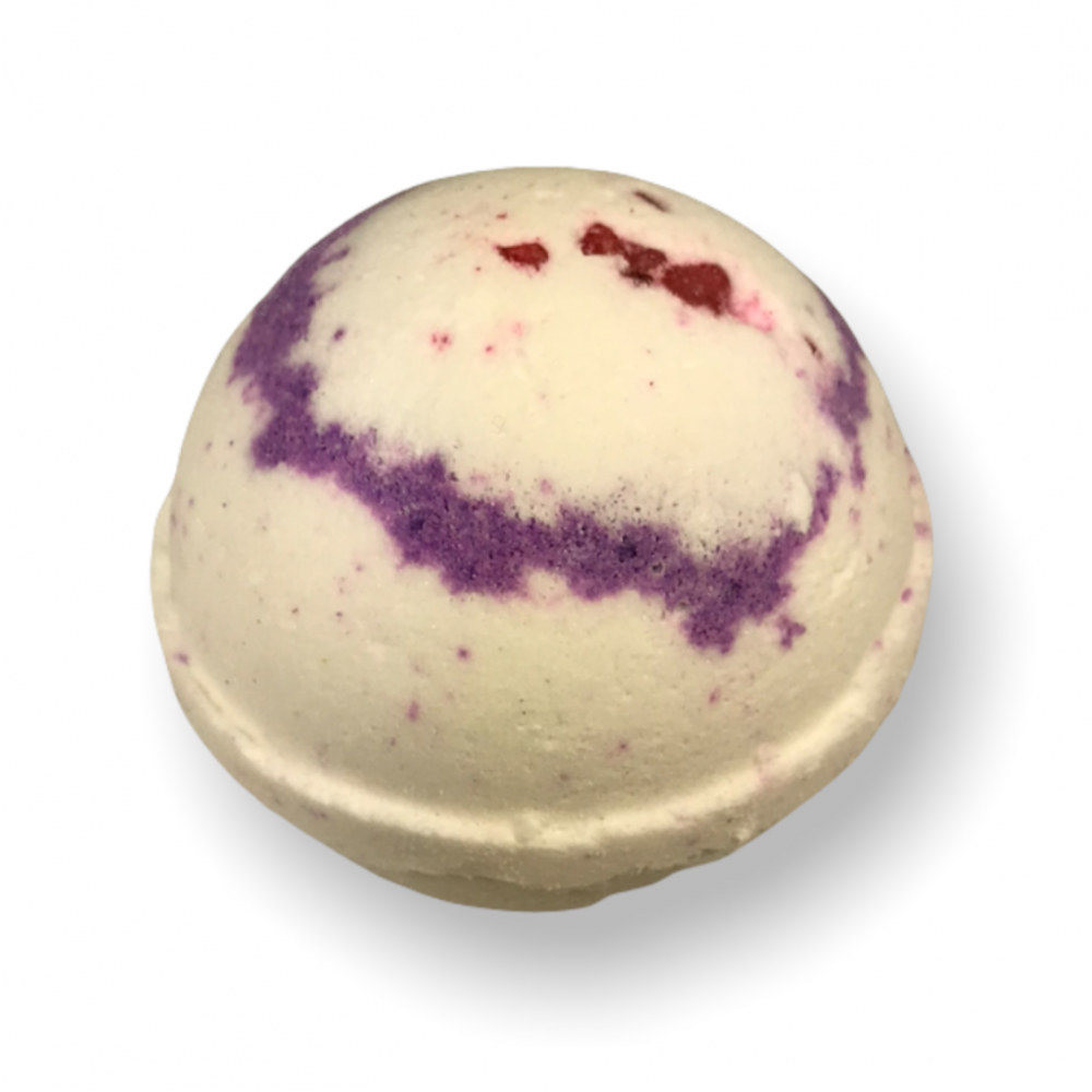Bath Bomb - Black Raspberry Vanilla, Top View