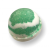 Bath Bomb - Green Clover and Aloe, Top View