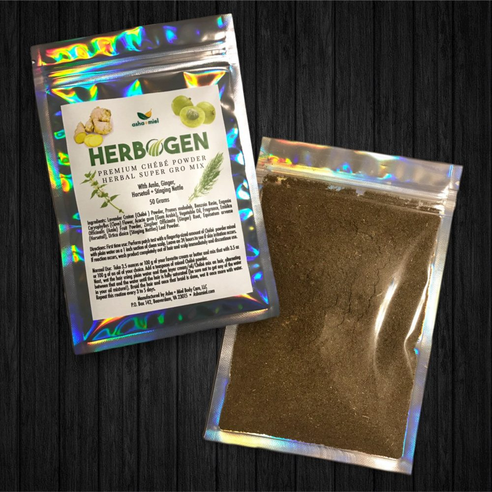 Chebe Powder Herbal Super Gro Mix, Hair Growth,  Natural Hair Growth, Miss Sahel