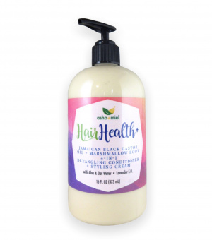 Jamaican Black Castor Oil + Marshmallow Root 4-In-One Ultra Conditioner and Styling Cream & Detangler, 16 ounce bottle