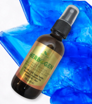 Copper Peptide Herbal Scalp Spray Gold Super Growth Boost Blend