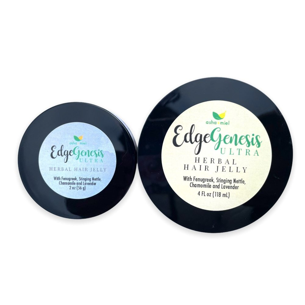 EdgeGenesis Fenugreek Herbal Hair Jelly, Edge Growth, Edges, Hair Growth